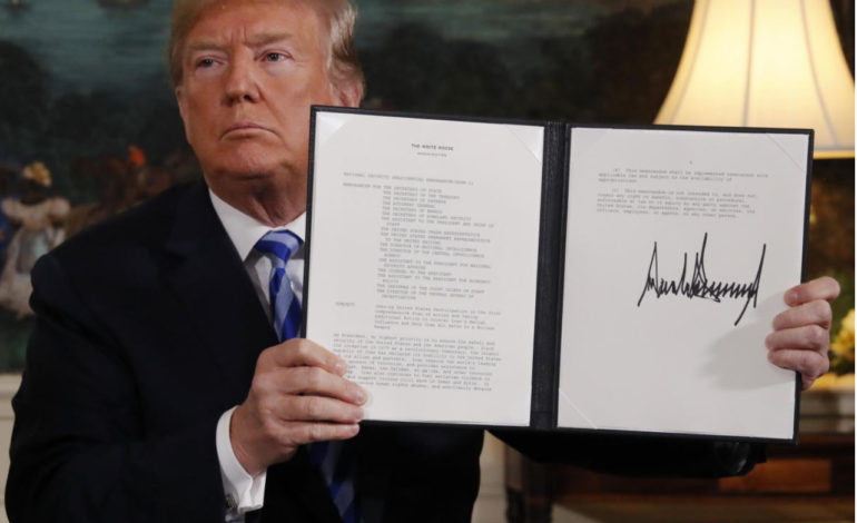 Americans overwhelmingly against Trump's decision to pullout from Iran deal