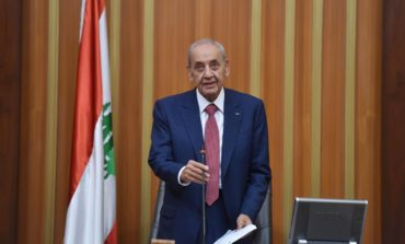 Lebanese parliament re-elects Nabih Berri as speaker