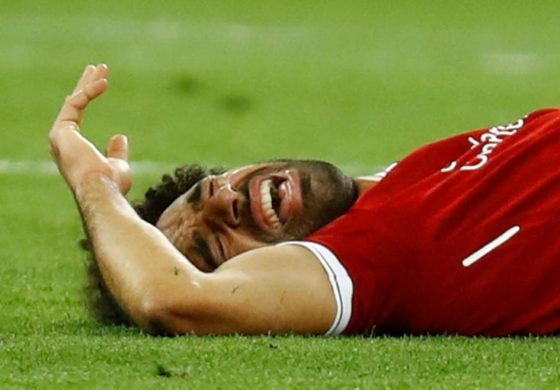 Egypt's Salah out for up to four weeks