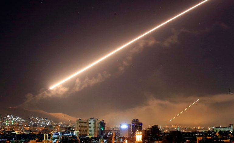 Syrian air defense intercepts missile attack on airport, state media reports