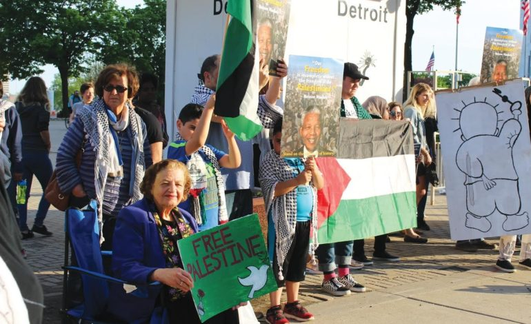 Michigan officials, activists condemn anti-BDS bills as Gaza protest persist