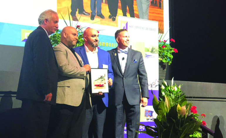 Arab American family receives prestigious regional business award