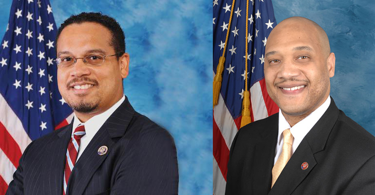 Andre Carson and Keith Ellison