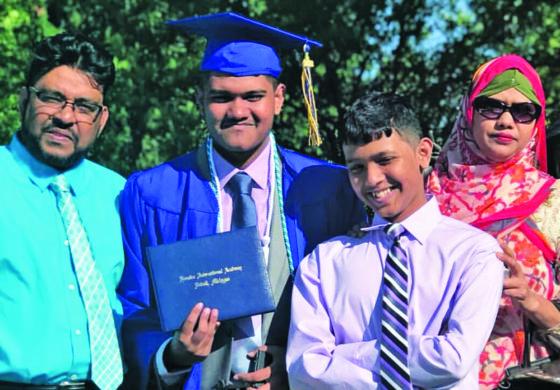 Detroit's Frontier International Academy students improve school's success