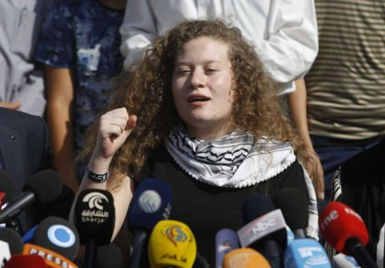 Ahed Tamimi freed from Israeli prison pledge to continue resistance