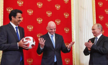 Russia hands over World Cup hosting duties to Qatar
