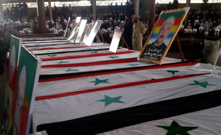 Syrian Druze bury dead as anger over ISIS attacks grows