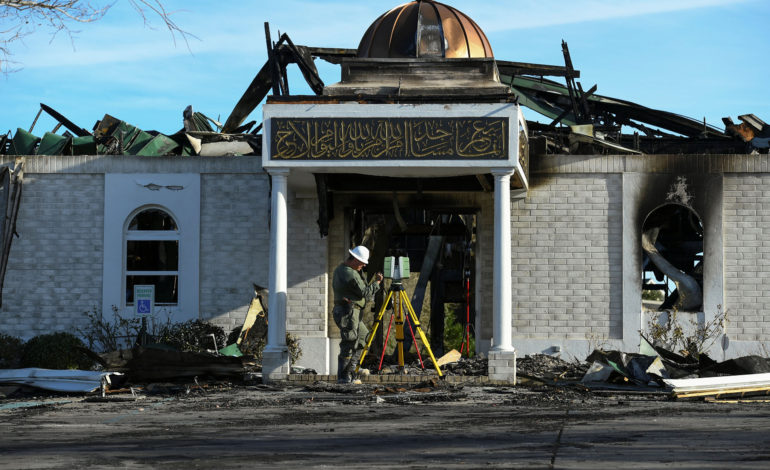 Texas man convicted of hate crime in 2017 mosque burning