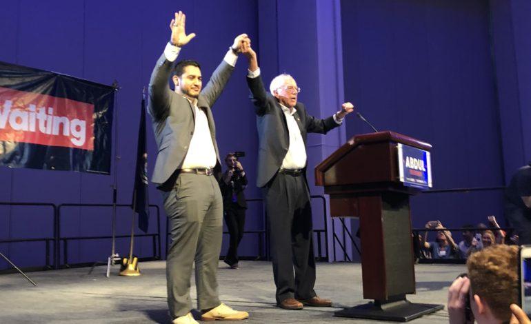 Bernie Sanders headlines rallies for El-Sayed days before primary