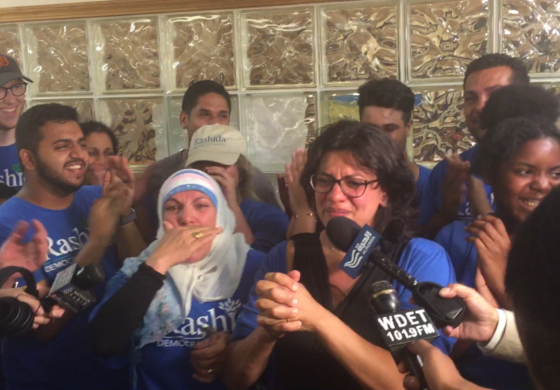 Rashida Tlaib first Arab American Muslim woman elected to U.S. Congress