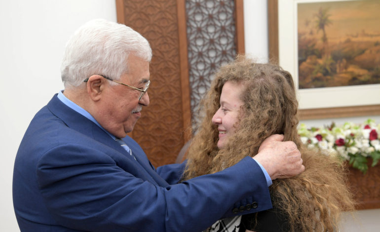 Mahmoud Abbas: Stop exploiting Ahed Tamimi for personal gain