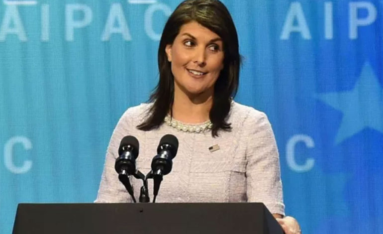 The U.N. 'sheriff': Nikki Haley elevated Israel, damaged U.S. standing
