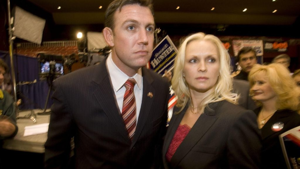 Duncan Hunter and his wife Margaret