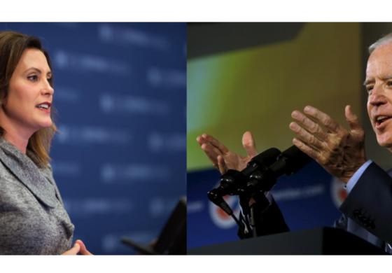 Joe Biden endorses Whitmer for Michigan governor