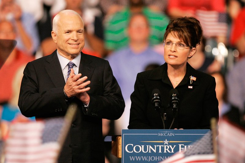 McCain and Palin 2008