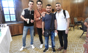Reception hosted in honor of Palestinian college students visiting Michigan