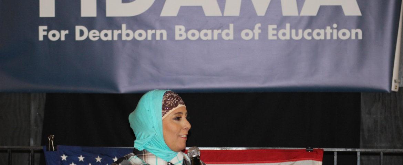 School Board candidate Aman Fidama is first Yemeni American woman to run for office in Michigan