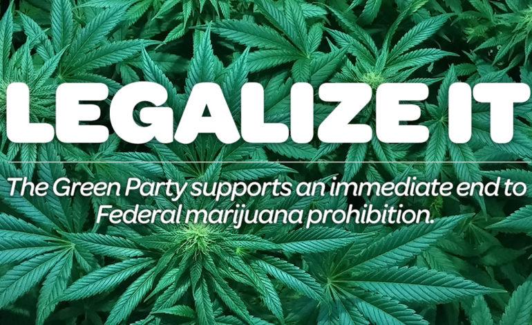 Green Party of Michigan endorses proposal for marijuana legalization