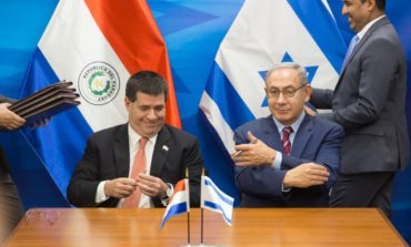 Israel closing embassy in Asuncion after Paraguay moves mission back to Tel Aviv