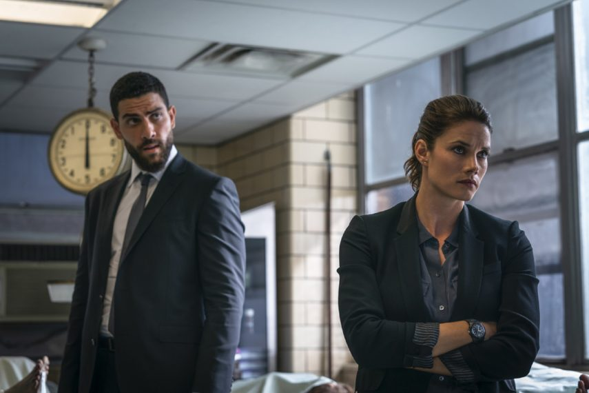 Missy Peregrym and Zaki in FBI.