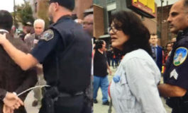 Rashida Tlaib, Abdul El-Sayed arrested at Fight for $15 rally in Detroit