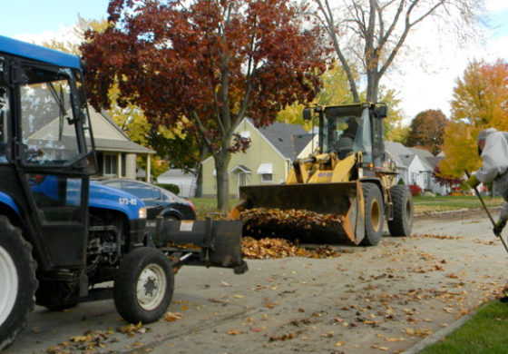 Dearborn loose-leaf and bagged leaf collection on trash day ends Dec. 14