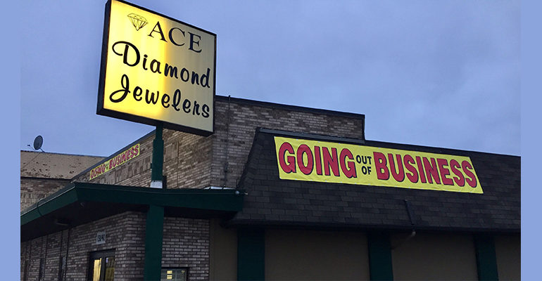 Dearborn's Ace Diamond Jewelers to close