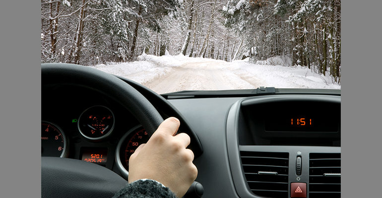 Snow is coming: What to do if you are involved in a car crash