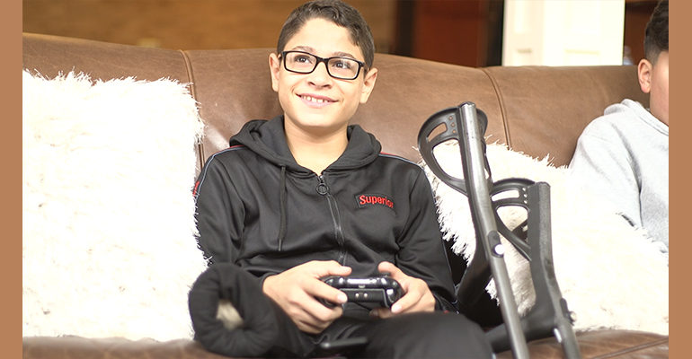 From Gaza to Dearborn: Mohammed Abu Hussein lost his leg, but not his hope