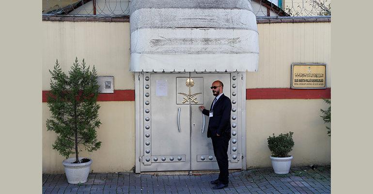 U.S. imposes sanctions on Saudi officials for Khashoggi killing