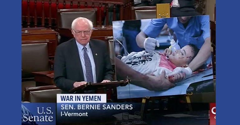 Senate votes 63-37, advances measure to end U.S. support for Saudi war on Yemen