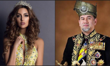 King of Malaysia marries former Miss Moscow
