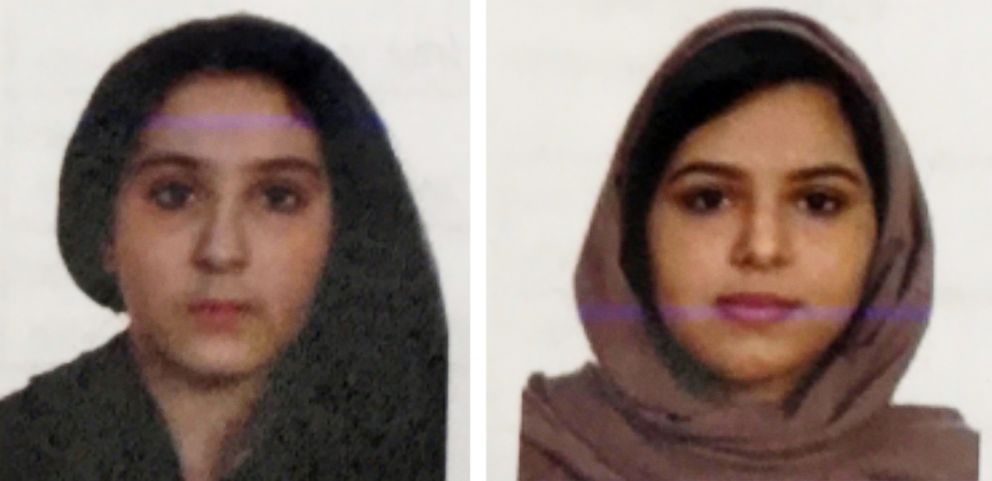 Tala Farea, 16, and Rotana Farea, 22