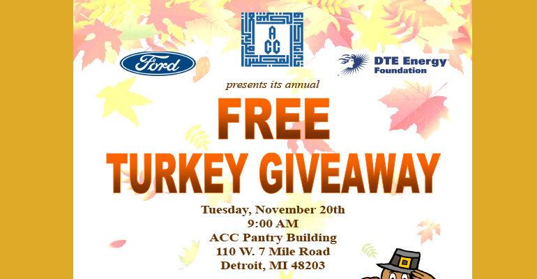 ACC to distribute 320 turkeys to region's most needy