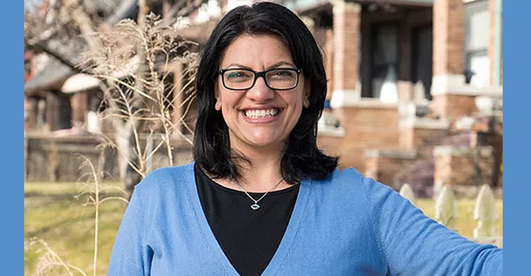 Congresswoman-elect Rashida Tlaib to lead delegation to Israeli-occupied West Bank