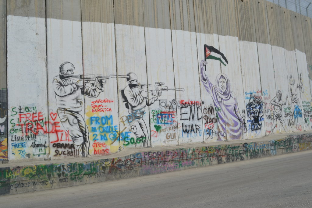 The Wall in Bethlehem That Segregates and Subjugates Palestinians