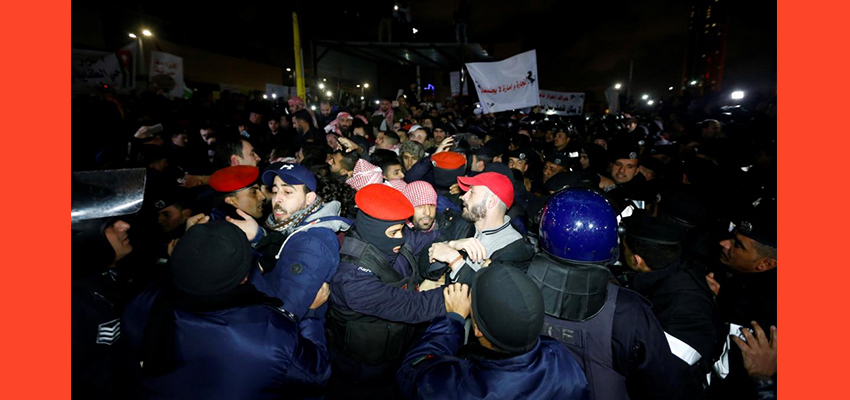 Jordanians stage new anti-austerity protests in the capital