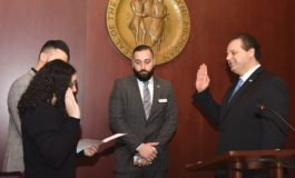 Sam Baydoun sworn in as new Wayne County commissioner for Dearborn area