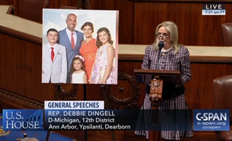 Congresswoman Dingell Honors Abbas Family on House Floor, Introduces Bill to Stop Drunk Driving