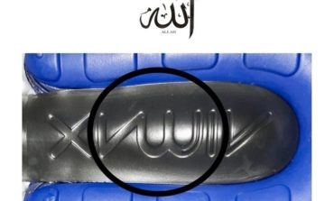 "Thousands sign petition to recall Nike shoes that appear to have ""Allah"" written on soles"