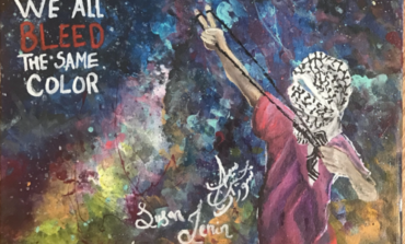 Palestinian American artist exhibits paintings inspired by life