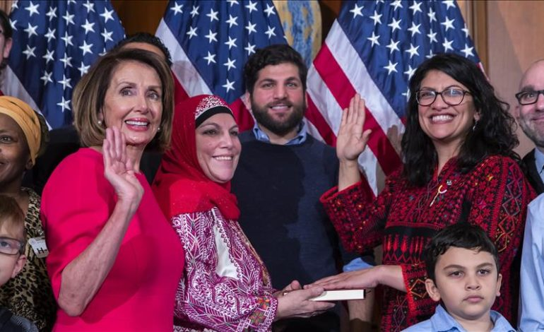 Rashida Tlaib shakes up Capitol Hill, calls for Trump's impeachment