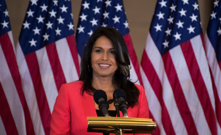 Hawaii Democrat Tulsi Gabbard announces run for president in 2020