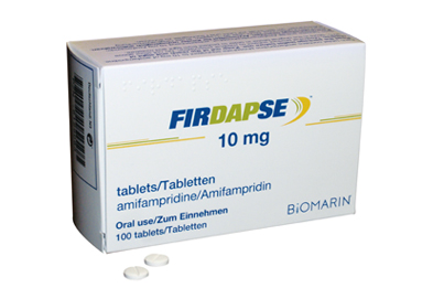 Firdapse, is used to treat Lambert-Eaton Myasthenic Syndrome