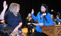 Fadwa Hammoud sworn in as country's first Arab American, Muslim solicitor general