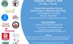 Detroit Metropolitan Airport holds job fair this Saturday