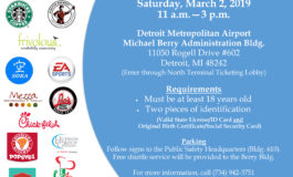 Detroit Metropolitan Airport holds job fair this Saturday