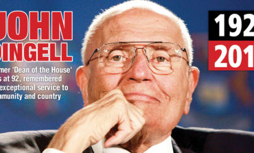 Former 'Dean of the House' John Dingell dies at 92, remembered for exceptional service to community and country