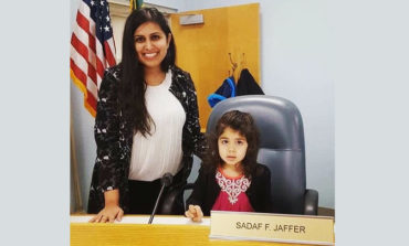 Sadaf Jaffer sworn in as America's first female Muslim mayor