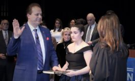 New Wayne County Commissioner Sam Baydoun ready to serve after public swearing-in ceremony
